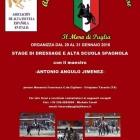 """ANTONIO ANGULO JIMENEZ IN PUGLIA ALLA """" MASSERIA FRANCESCA"""""""