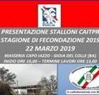 STALLONI – MASSERIA CAPO IAZZO MEETING DI PRESENTAZIONE