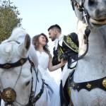 Francesco e Chiara San Valentino per Puglia a Cavallo