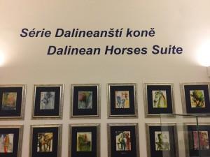 La serie i Cavalli di salvator Dalì